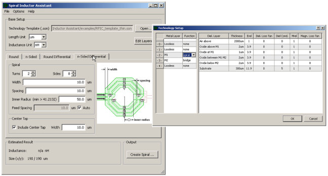 Dr  Mühlhaus Consulting & Software GmbH » Spiral Inductor