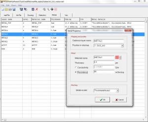 Material file tool - metal property view